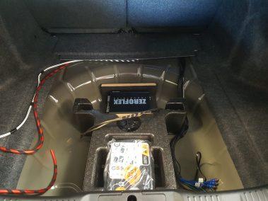 Ford Mustang Custom Amp Install