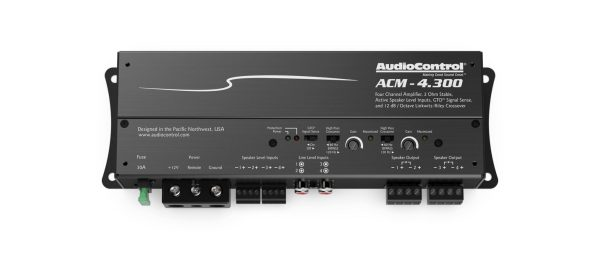 AudioControl ACM-4.300 4 channel micro amplifier from JC Installs in Christchurch
