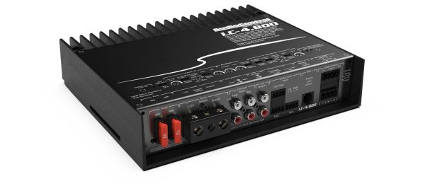 AudioControl LC-4.800 4 channel amplifier amplifiers from JC Installs in Christchurch
