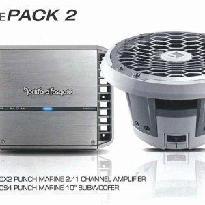 Rockford Fosgate marine system from JC Installs in Christchurch