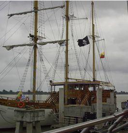El Barco Morgan, una forma de ver Guayaquil desde el Rio Guayas