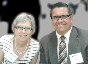Pastor Keith Fletcher & his wife Sarah