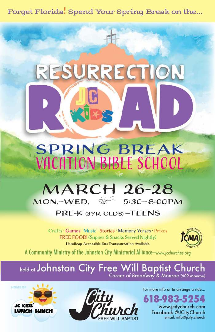 Resurrection Road VBS Begins Monday