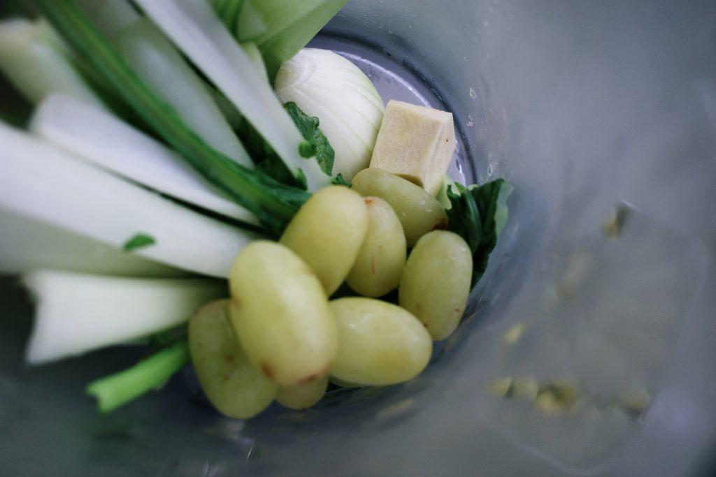 胎胎の夏日綠拿鐵蔬果汁|ELECTROLUX Explore 7 主廚系列全能調理果汁機 E7TB1-87SM