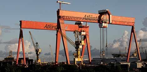 Estaleiro Atlântico Sul foi um dos primeiros a contribuir para a mudança  na matriz industrial do Estado  / Edmar Melo/JC Imagem