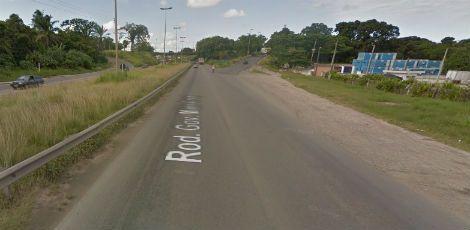 Vítima foi levada atacada quando fazia programa às margens da BR-101, segundo a polícia / Foto: Reprodução / Google Street View