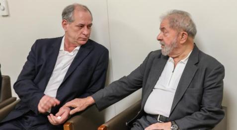 Image result for 'Lula prefere o Bolsonaro do que eu', diz Ciro Gomes