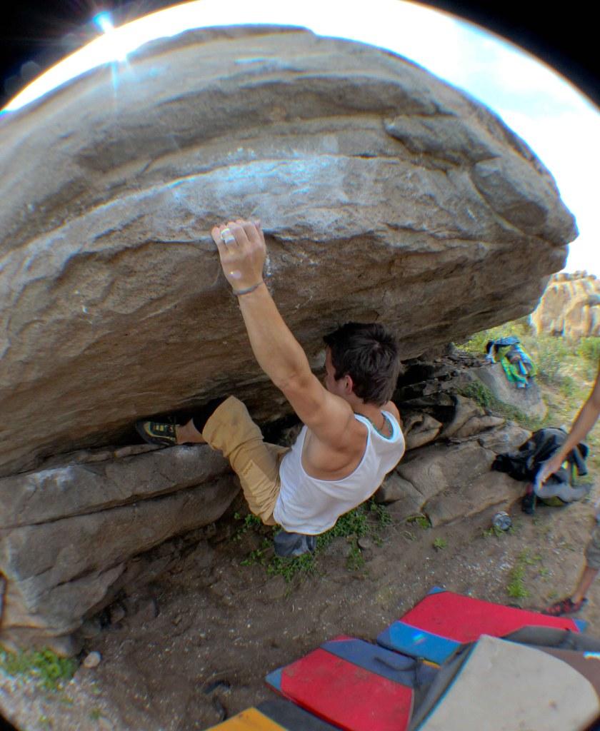 escalada boulder Zona Golden