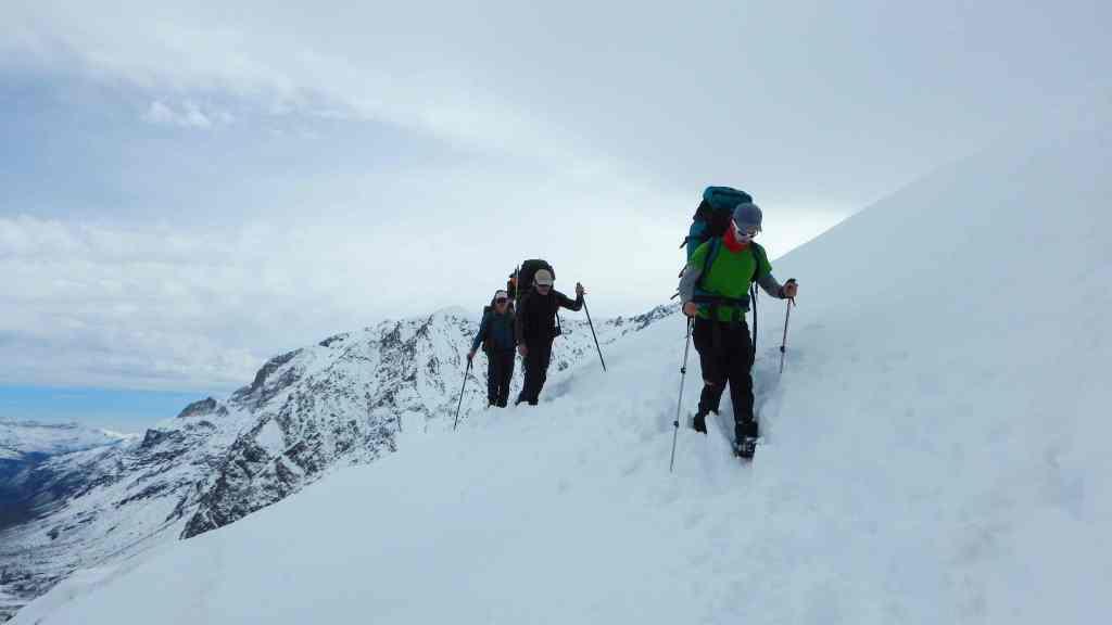 Cajón del maipo - Montañismo invernal
