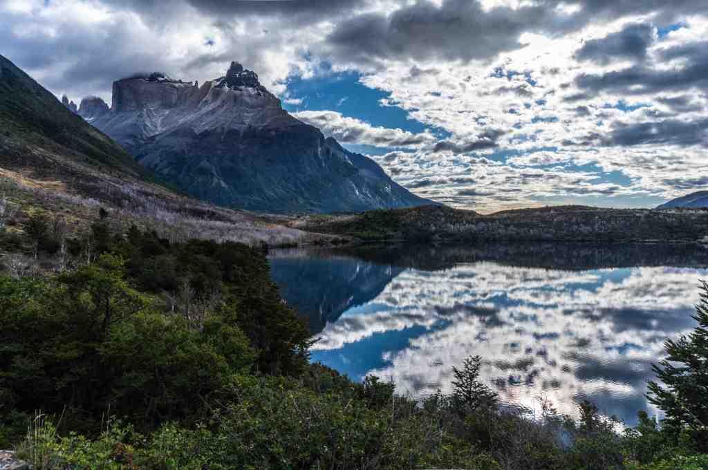 Lago Skottsberg - Cuernos del Paine