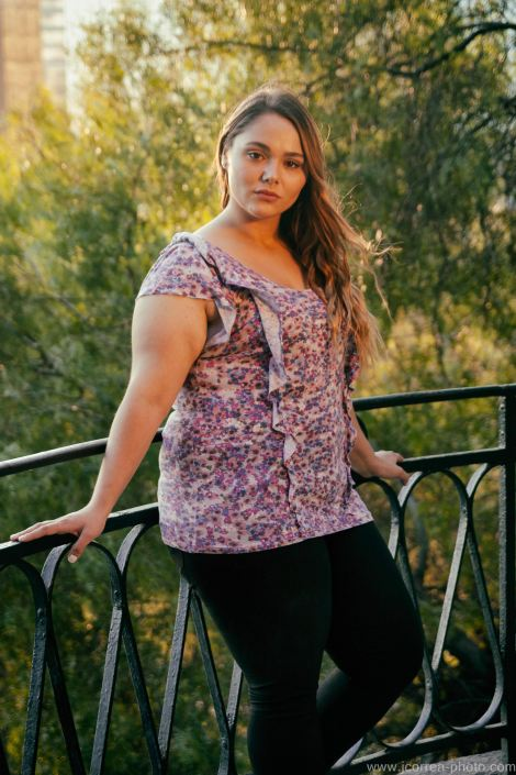 Sesiones hechas con chicas Plus Size  en Chile