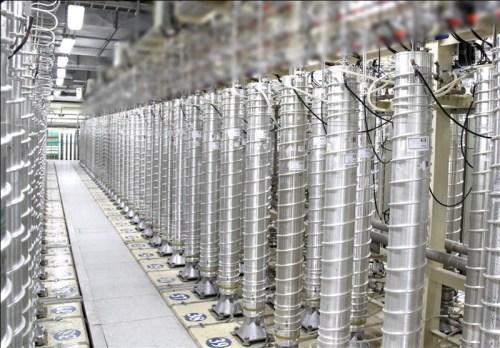 Centrifuge machines used for enriching uranium