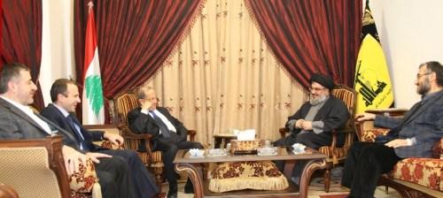 Aoun, Nasrallah
