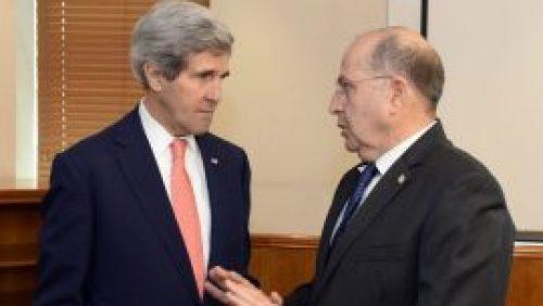John Kerry, Moshe Ya'alon