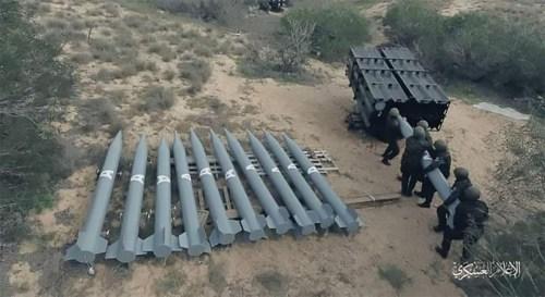 La fusée du Hamas
