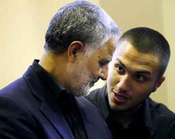 גיהאד מורנייה עם קסאם סולימאני