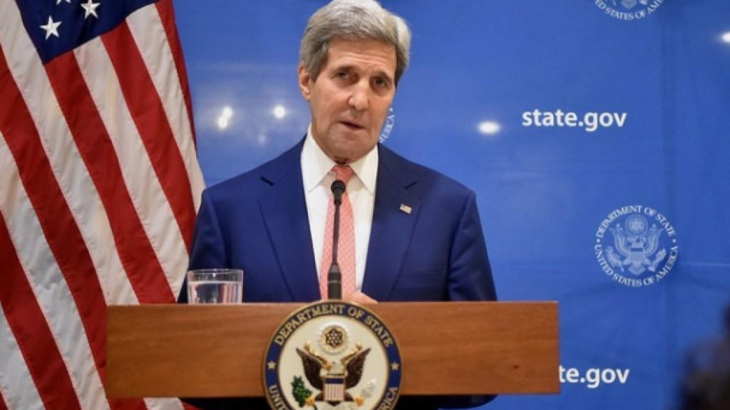 שר החוץ קרי פסימי מתמיד באשר ליחסי ישראל והפלסטינים