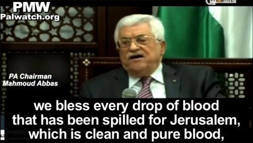 מחמוד עבאס, הטלויזיה הפלסטינית, 16 לספטמבר, 2015