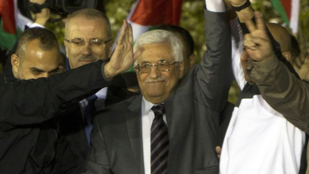 עבאס מנסה לסחוט את ישראל