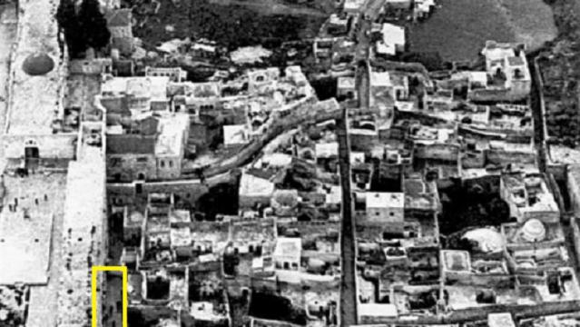 הקמת רחבת הכותל ב-1967 הייתה נצרכת וחוקית
