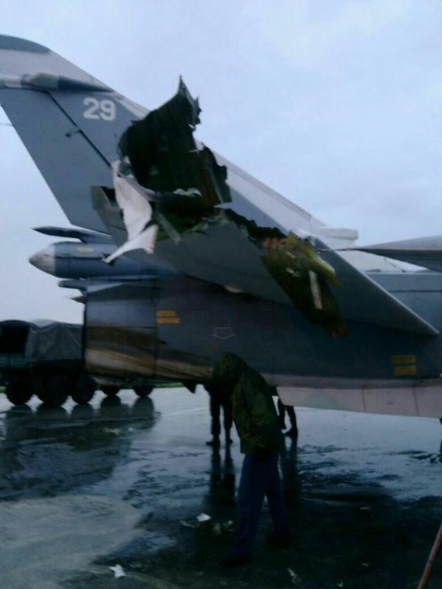 תוצאות מתקפת הרחפנים על שדה התעופה הרוסי במחמימים