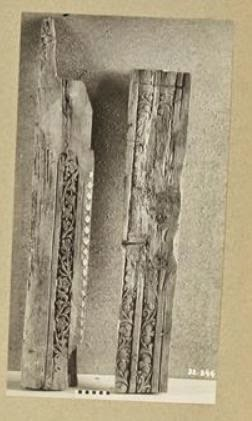 Are these carved beams from the Jewish Temple? (Israel Antiquities Authority)