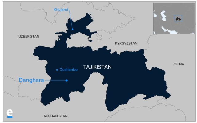 מיקום המתקפה על תיירים אמריקאים ואירופיים בטג'יקיסטןהמחבלים דרסו שיירת רוכבי אופניים ואז דקרו את הפצועים בסכינים עד מוות