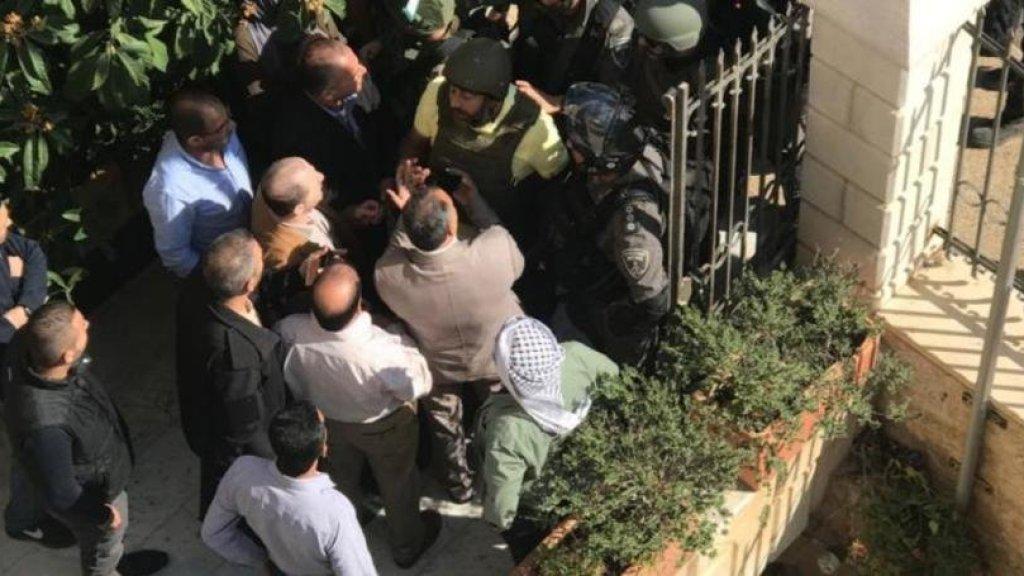 קמפיין החרם על מוכרי הקרקעות ליהודים: פשיטה של המשטרה על משרדי הרש