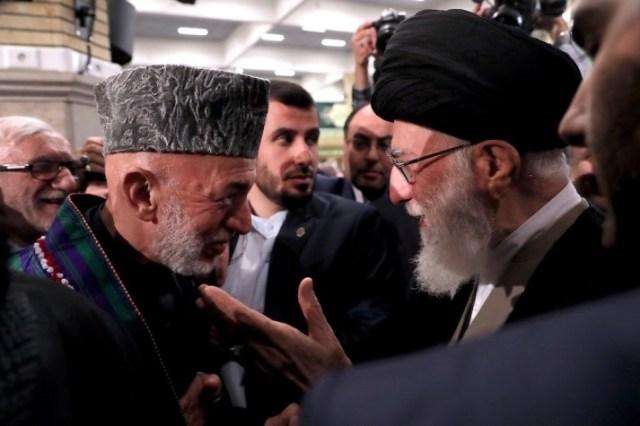 נשיא אפגניסטן לשעבר בביקורו בועידה
