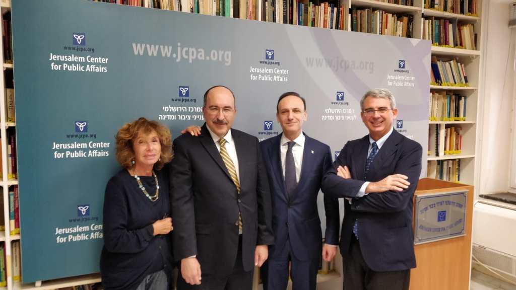 איטליה שוקלת לפתוח נציגות בירושלים