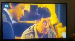 קטע מתוך סרטו של ג'קי צ'אן שהוקרן בטלוויזיה