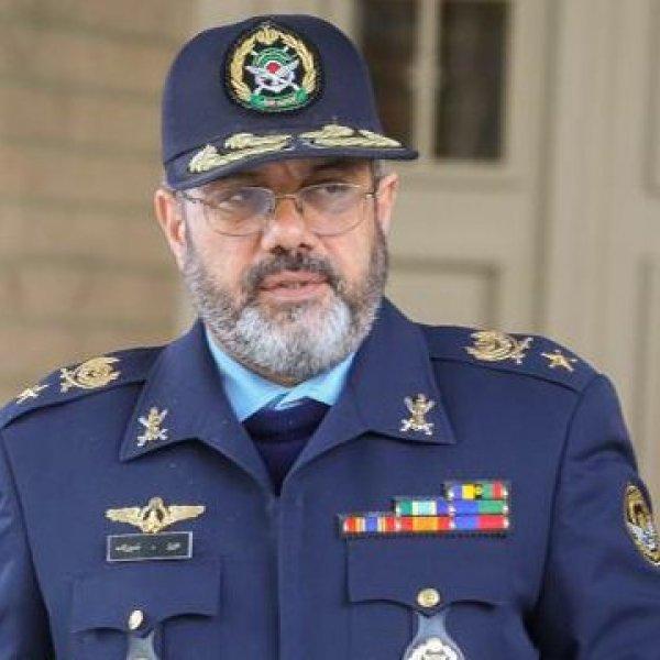 מפתיע: הוסרו דבריו של מפקד חיל האוויר האיראני באתר ה