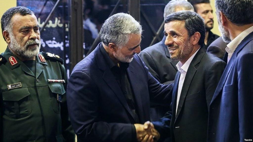 אחמדינג'אד נגד קאסם סלימאני
