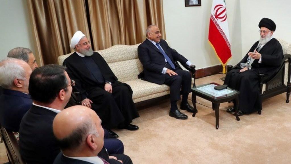 """איראן פועלת להוצאת הכוחות של ארה""""ב מעיראק"""
