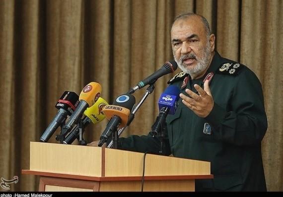 """(מפקד משה""""מ: המעצמות לא השלימו עם עוצמת המהפכה האיראנית)"""