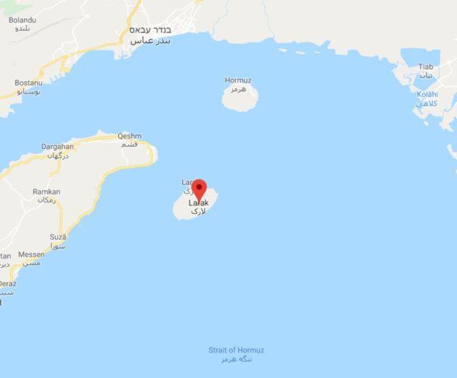 האי לארקה בדרום המדינה