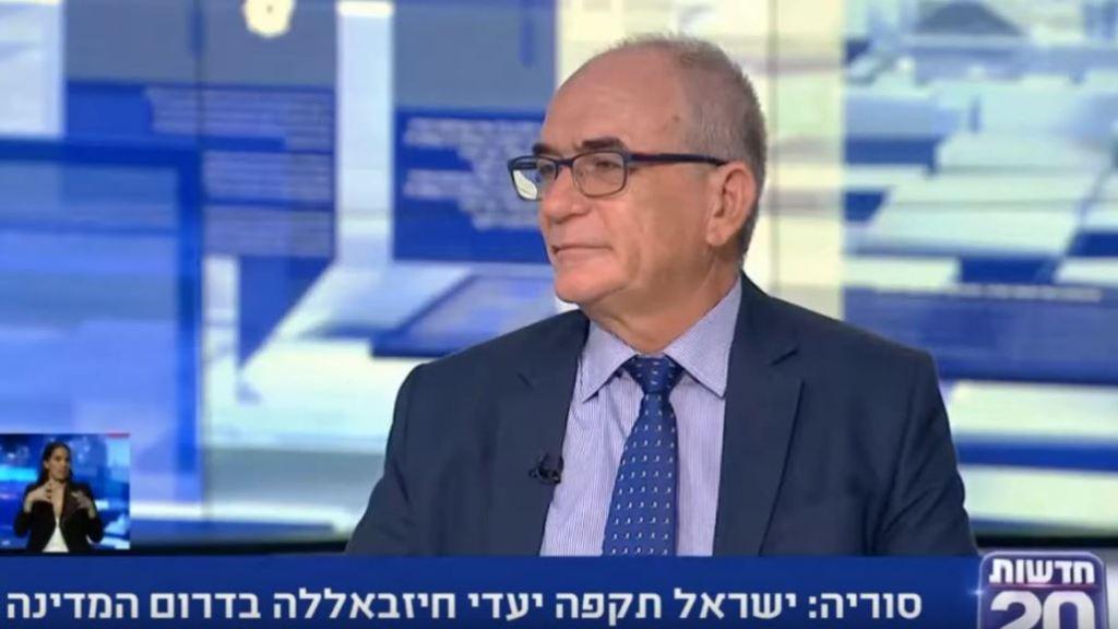 התקיפה הישראלית בסוריה