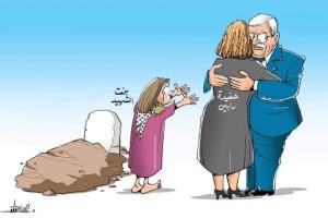 עבאס מוצא זמן לפגוש את נועה רוטמן אבל לא את הפצועים הפלסטינים - זעם אצל הפלסטינים