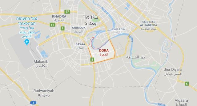 מפת האזור // גוגל מפות