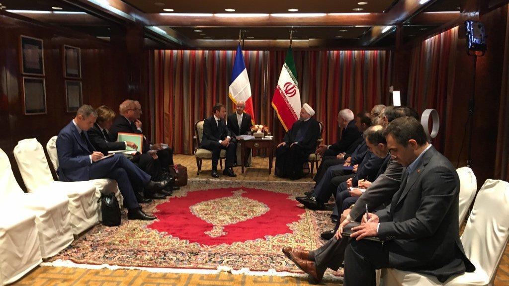 כלכלה ופוליטיקה: מדוע מקרון מבקש להציל ההסכם עם איראן?