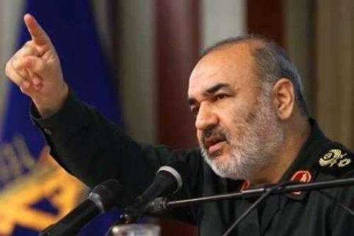 """מפקד משמרות המהפכה, סאלמי מאיים על ישראל, ארה""""ב ובריטניה"""