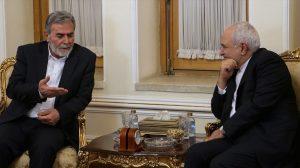 """שר החוץ של איראן בדיון עם מזכ""""ל הגא""""פ נאחלה"""