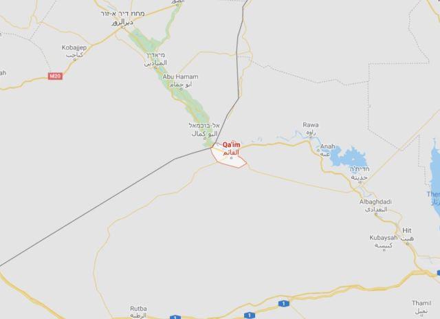 אזור גבול עיראק- סוריה // קרדיט: גוגל מפות
