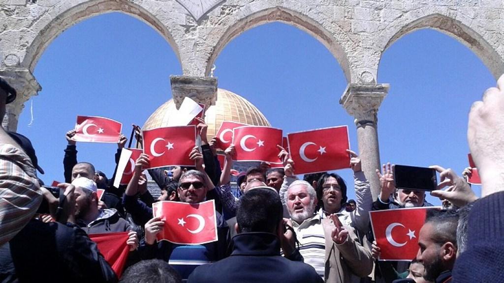 גוברת המעורבות התורכית בירושלים