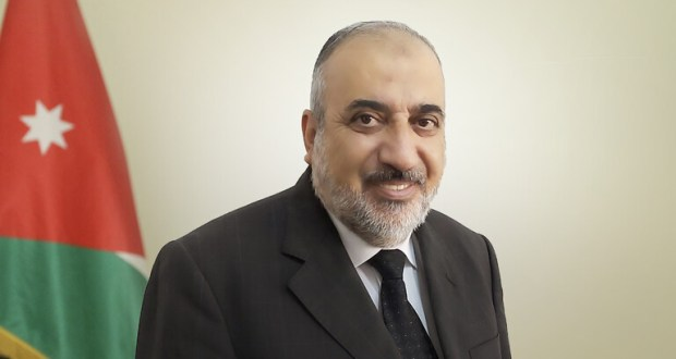 "The general observer of the ""Muslim Brotherhood"" in Jordan, Abdul Hamid Al-Thunaibat."