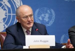 ג'ון רוגי, פרופסור לזכויות אדם ועניינים בינלאומיים בבית הספר לממשל על שם קנדי של אוניברסיטת הרווארד
