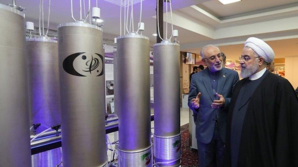 """סבא""""א: איראן הגדילה משמעותית את כמות האורניום"""