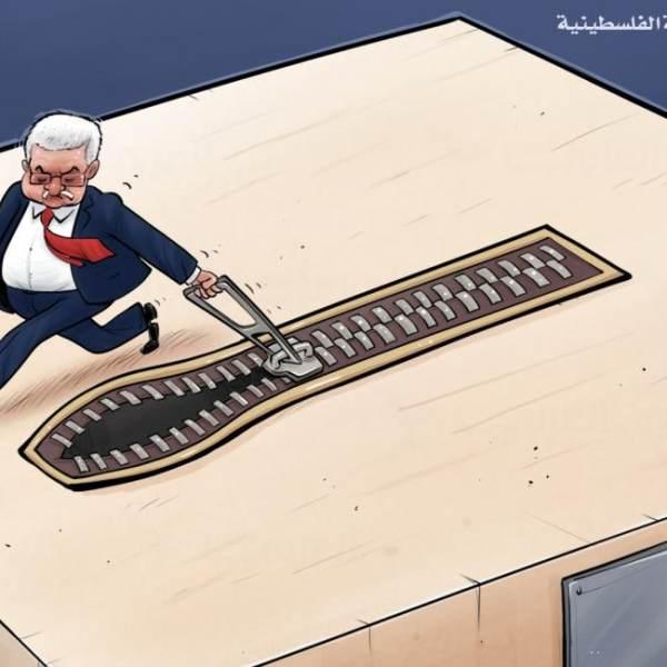הסולם שהגישה ישראל לעבאס - הציל אותו, בינתיים