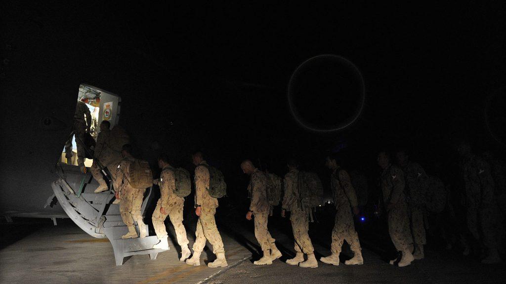 """ארה""""ב החלה את השלב האחרון בנסיגה מאפגניסטן"""