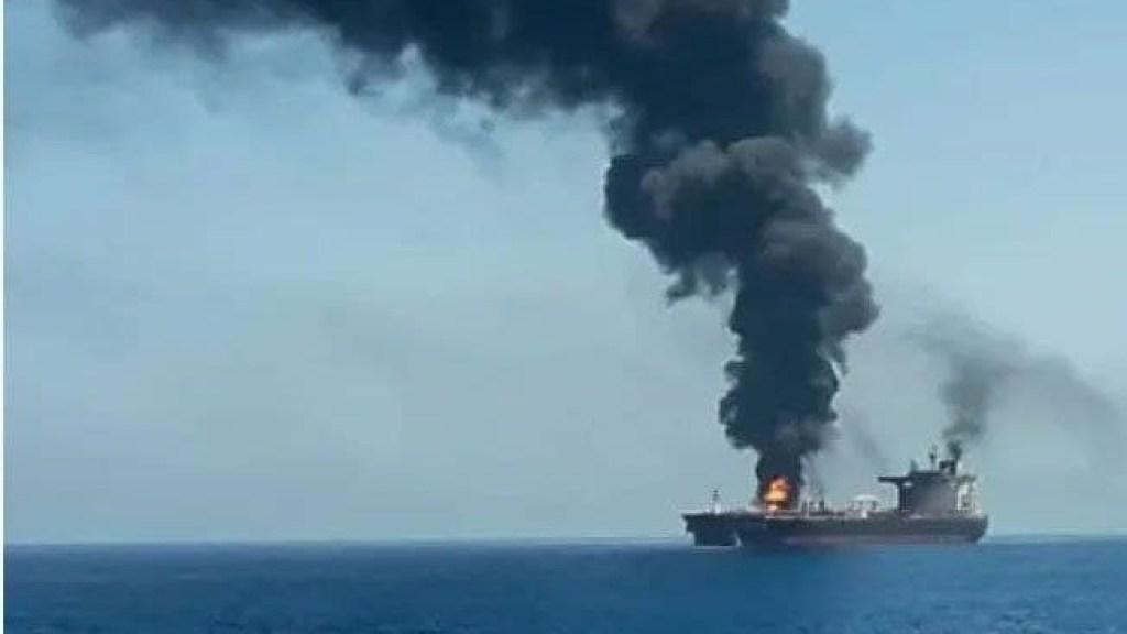 איראן מכחישה מעורבות בתקיפה הספינה